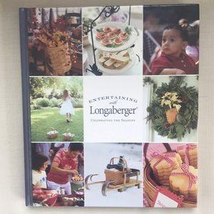 Entertaining with Longaberger Cookbook Seasons